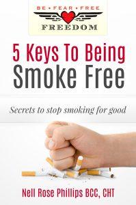5 keys to being smoke free hypnosis book